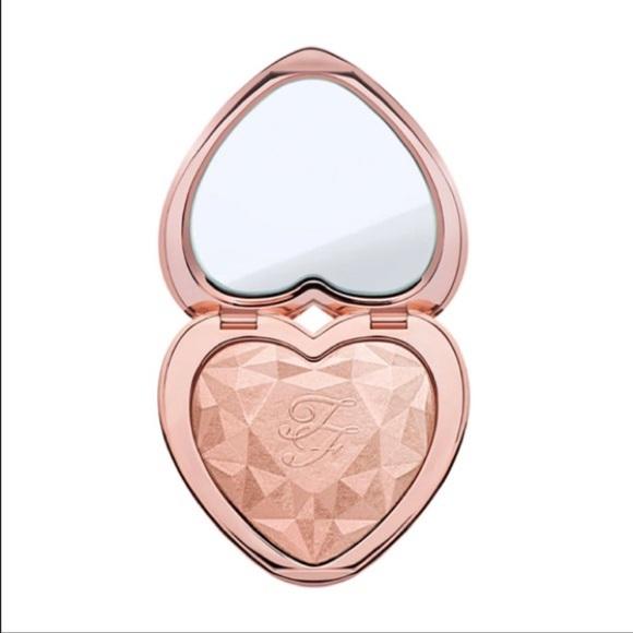 Too Faced Love Light Highlighter Makeup Rose Gold Nwt